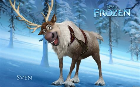 wallpaper frozen sven disney frozen 2013 sven wallpapers 1680x1050 411947