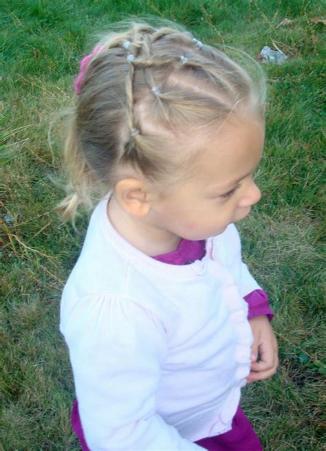 natural hairstyle w jewels rubber band for holidays pictures of kids hairstyles with rubber bands