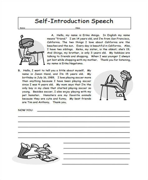 of the speech exles self introductory speech 28 images 9 self introduction