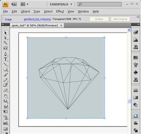 sketchup layout raster vector how to create 3d gemstones using adobe illustrator and