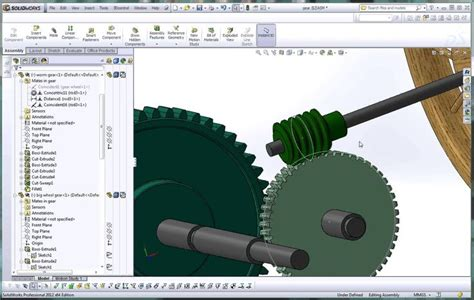 tutorial solidworks cam solidworks help tutorial how to apply a mate to a worm