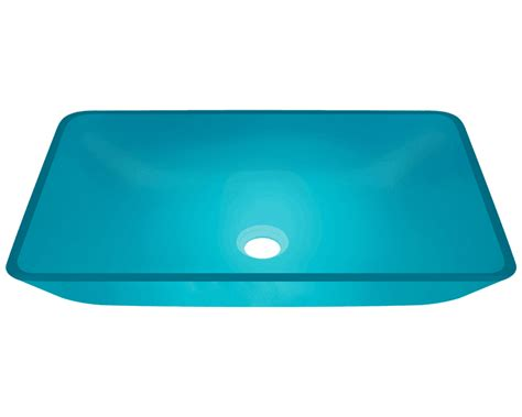 colored bathroom sinks 640 turquoise glass vessel sink