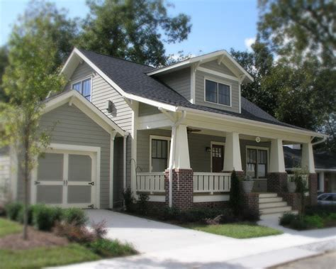 craftsman style house colors a new craftsman bungalow with historic charm