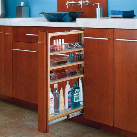 off the shelf kitchen cabinets rev a shelf 6 quot base height vanity filler 6 bins soft close