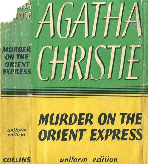 Novel Murder On The Orient Express Cover Agatha Christie 1000 images about agatha christe book covers on
