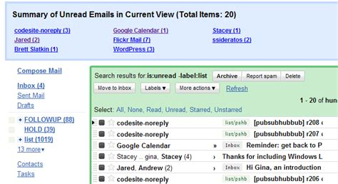 How To Search For Unread Emails In Gmail Web Burning