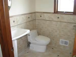 Powder Rooms With Pedestal Sinks - lara construction bathroom remodeling