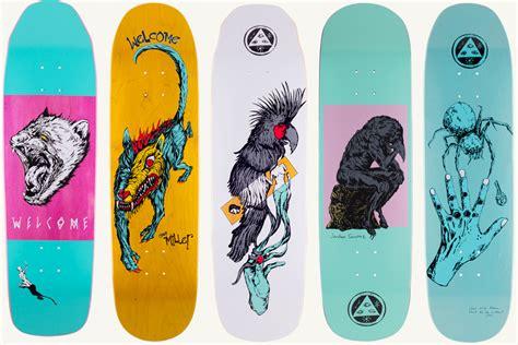 Draw Yourself an inside look at welcome skateboards jenkem magazine