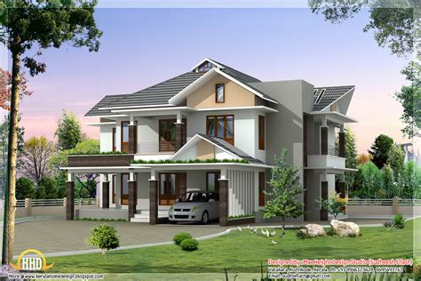 sq ft ultra modern house elevation kerala home design