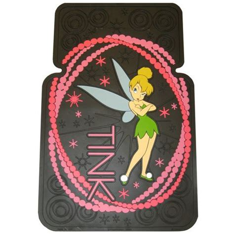 Tinkerbell Car Mats by Plasticolor Floor Mat Tinkerbell Watercolor