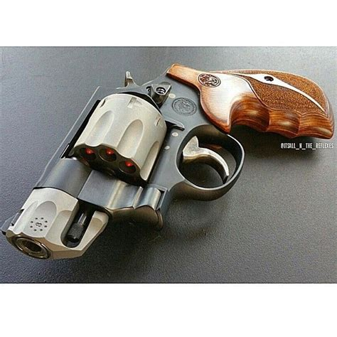smith wesson revolver diy home security