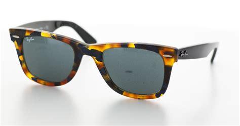 Ray ban Sunglasses, Colours Tobacco Brown And Blue   Original Wayfarer Fleck Blue Rb2140