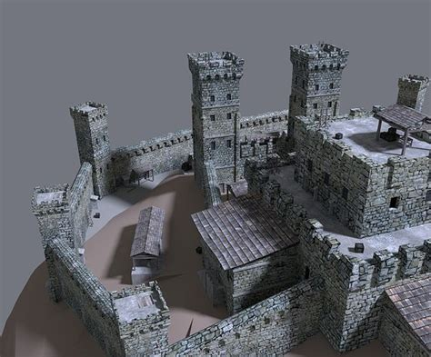 free download cgtrader models castle house 3d cgtrader