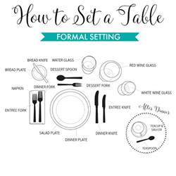 how to set a formal dinner table how to set the table easy guide to informal and formal