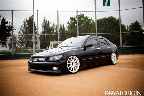 lexus is300 stance black white wheels on my black is300 please clublexus lexus