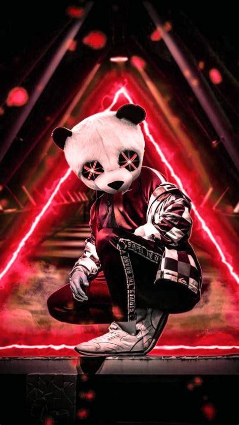 neon panda wallpaper  efeyildirim ff