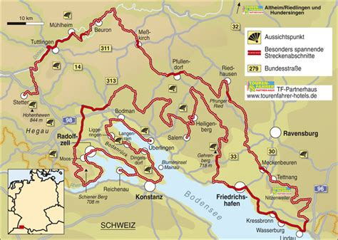 Motorrad Online Karte by Traumstra 223 En Bodensee Land Info Karte Tourenfahrer Online