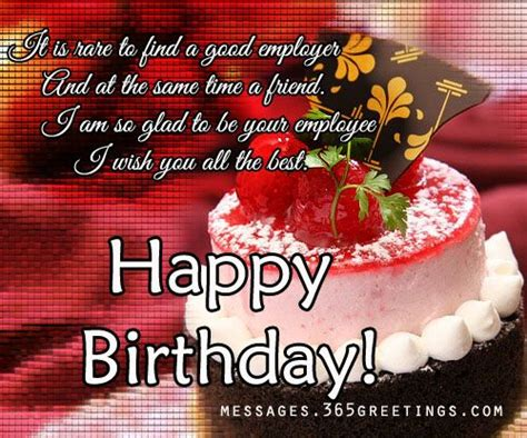 Happy Birthday Wishes For Respected Person Birthday Wishes For Boss Birthday Wishes Gifts And