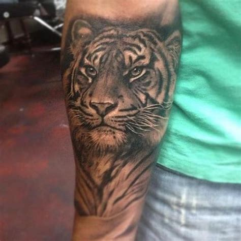 tattoo prices forearm 62 best tiger tattoos on forearm