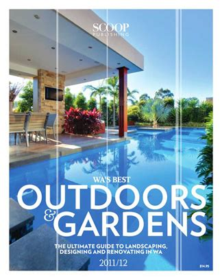 design magazine perth scoop magazine wa s best outdoors gardens 2011 12 wild