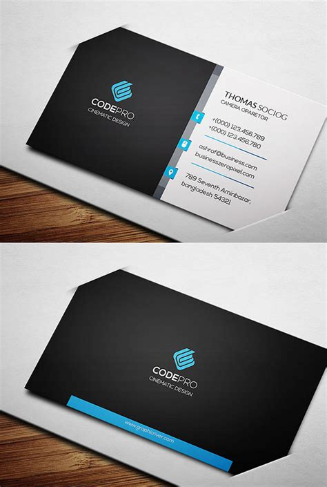 engineering business card templates free corporate creative business card psd templates design