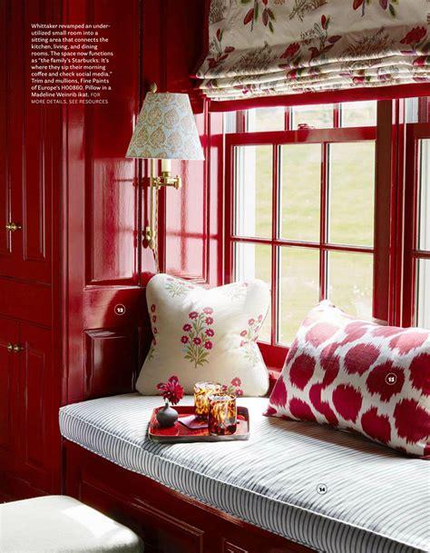 house beautiful com quadrille jardin des plantes print window shade