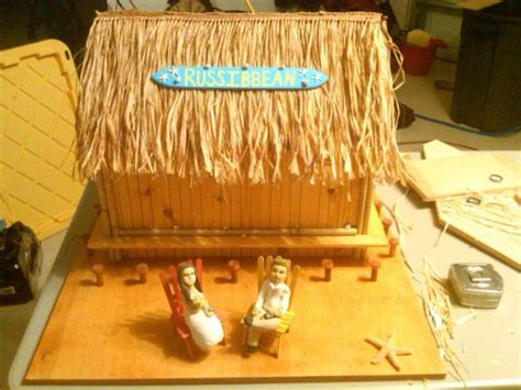 Tiki Hut In A Box Reception Decorations Weddingbee Photo Gallery