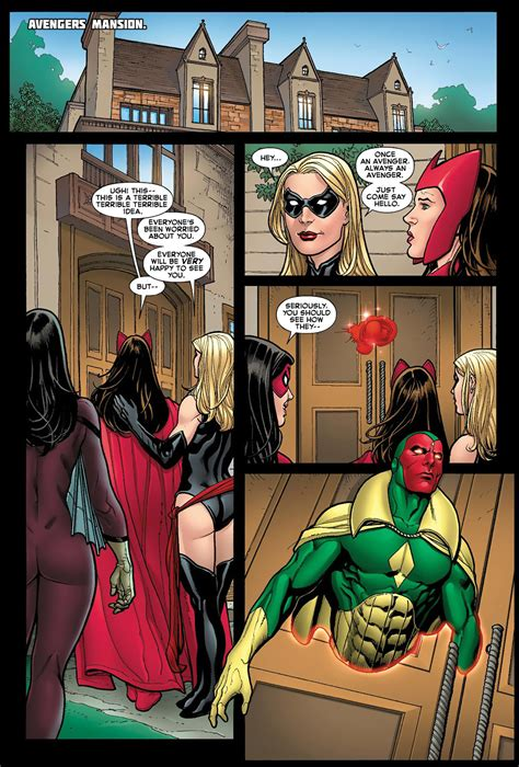 vision sends scarlet witch  comicnewbies