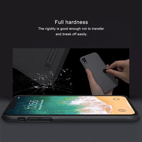nillkin matte phone for iphone xr black