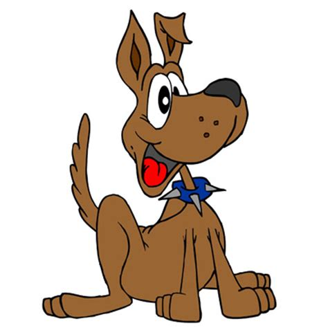 dogs in animated deputy pictures