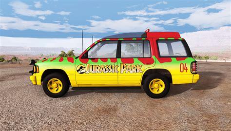 jurassic park car gavril roamer tour car jurassic park for beamng drive