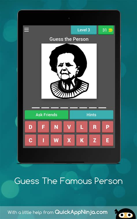 guess the tattoo quiz amazon it appstore per android guess the famous person quiz amazon com br amazon appstore