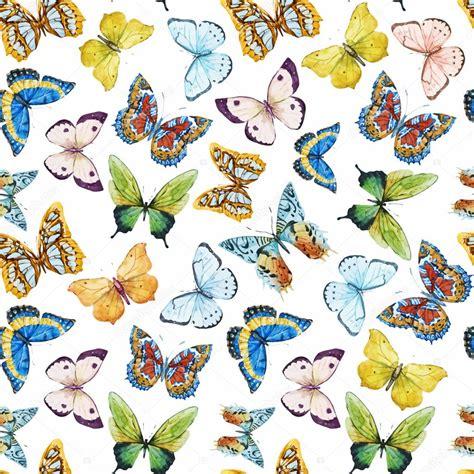 butterfly pattern stock watercolor butterfly pattern stock vector 169 zeninaasya