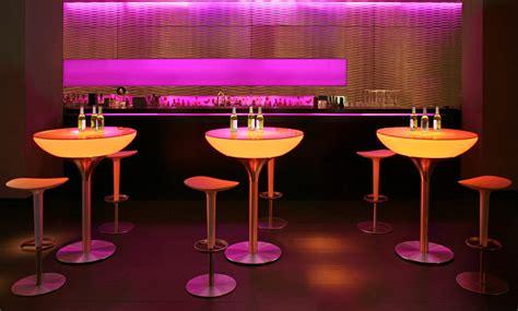 Led Bar Table Moree Bar Tables