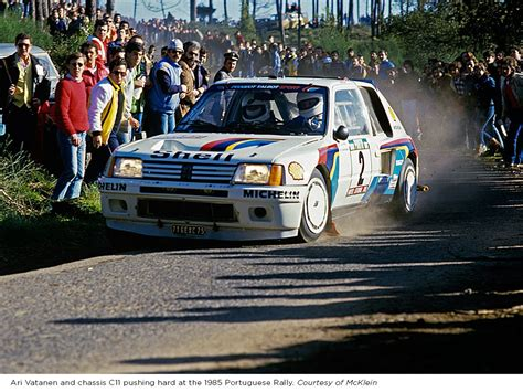 peugeot 205 group b you can bid on the peugeot 205 t16 group b rally car