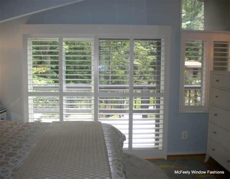 plantation shutters for patio doors patio door plantation shutters severna park md