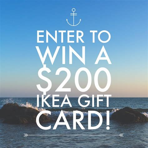 Ikea Giveaway - win a 200 ikea gift card luv saving money