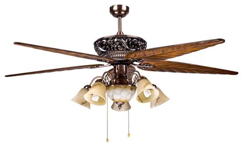 large blade ceiling fans large tropical 5 blade ceiling fan light for dining room