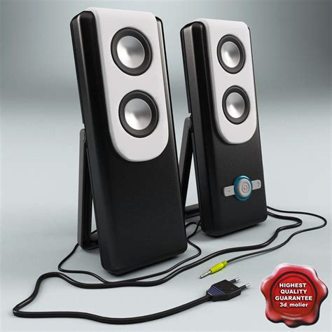 Speaker Genius pc speaker genius sp 3d model