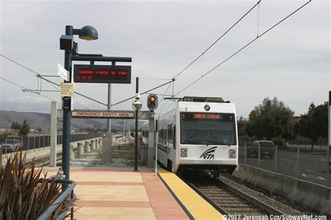 table santa teresa and cottle cottle vta light rail alum rock santa teresa the