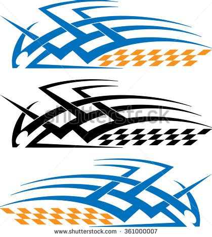 Vector Clipart For Vinyl Decal Graphics - vehicle graphics stock images royalty free images