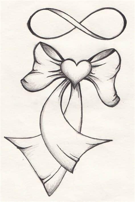 infinity tattoo stencil amazing nice bow with simple infinity tattoo stencil