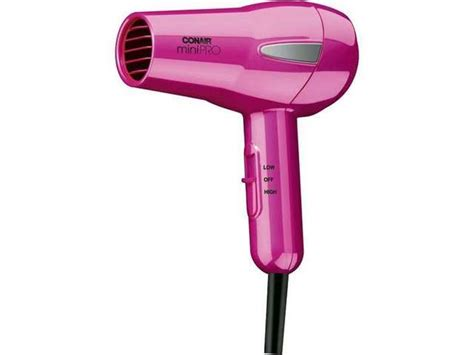 Conair Travel Hair Dryer With Diffuser conair mini 1200w hair dryer pink jet