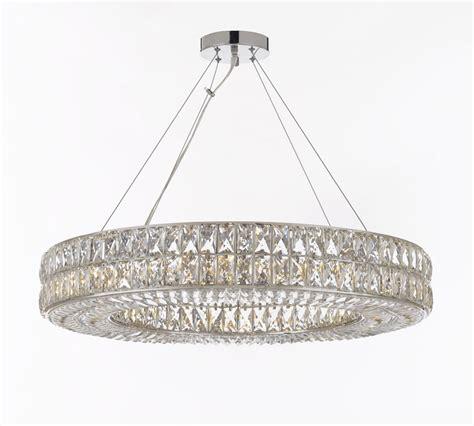 Contemporary Pendant Chandelier Crystal Spiridon Ring Chandelier Modern Contemporary