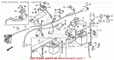 honda z50jz monkey finland wire harness battery