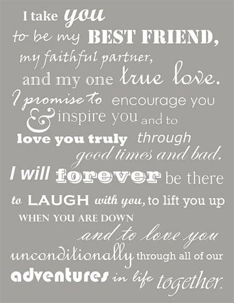 Best 25  Wedding vows for him ideas on Pinterest   Wedding