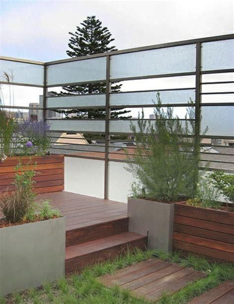 Gartenzaun Metall Modern