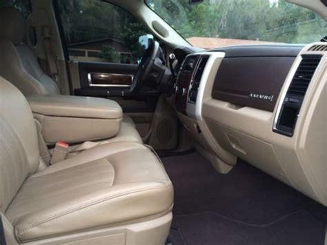 sell  dodge ram dually  leather interior laramie mega cab  turbo diesel truck
