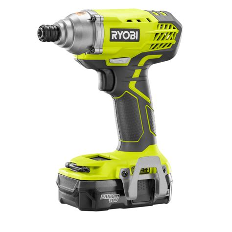 ryobi one 18 volt lithium ion cordless drill driver and
