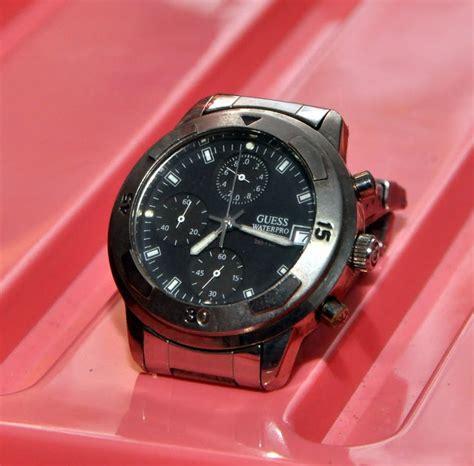 Jam Guess Waterpro mancis dah basah jam tangan guess waterpro 1998